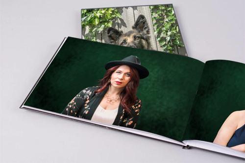 Image showing photo books