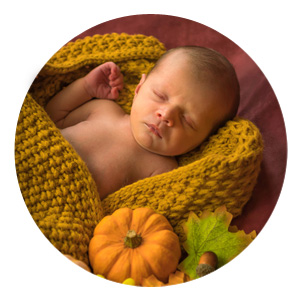 Newborn Photographer Example Photo