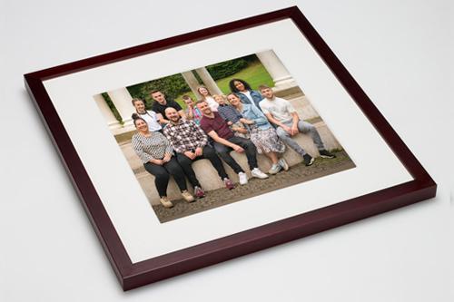 Image showing framed print