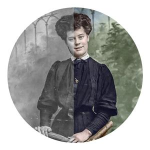Photo Restoration Example Photo