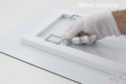 Image showing Dibond ready to hang photo prints