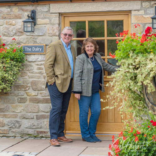 Diane & Andrew Howarth owners of Cottage in the Dales
