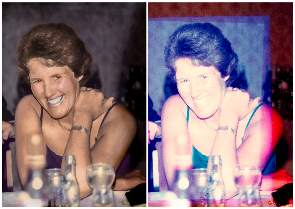 Photo restoration service in Rotherham